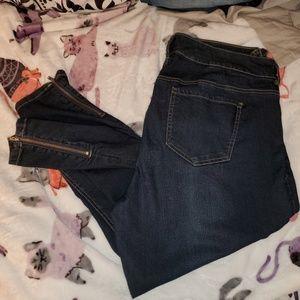 Torrid skinny jeans sz 16
